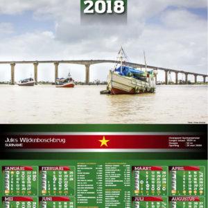 8. Enkel bladig kalenders 2018