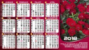 8b. Tafel Kalender 2018